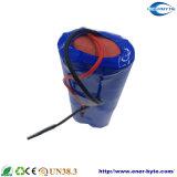 Paquete solar 7.4V 2000mAh de la batería de litio
