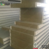 Панель сандвича шерстей утеса термоизоляции для стального здания