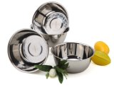 스테인리스 믹스하는 그릇 또는 국 사발