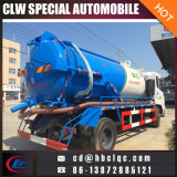 4X2 8000L 10000L Vacuum Tank Vehicle Sewer Suking Tank Truck