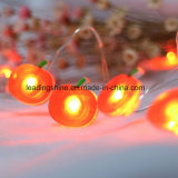 Apple Shape Battery Operated 3m 4.5V 30 LED Silver Wire Mini Fairy Christmas Light