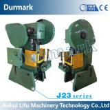 Prensa de potencia del orificio del metal de hoja de J23-80tons