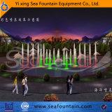 Música combinación de tipo de fuente de agua con la escultura