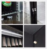 Dukers 138L escolhe o refrigerador da cerveja da porta, refrigerador traseiro da barra, Showcase de vidro, caso de indicador da cerveja