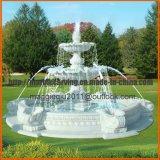 De goedkope OpenluchtFontein van het Water van de Fontein van de Steen van de Kwaliteit Commerciële voor de Eigenschappen Mf1703 van de Tuin