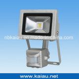 projector do diodo emissor de luz da ESPIGA 20W com sensor de PIR