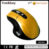右の人間工学的の光学マウス無線電信Bluetooth