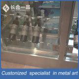 Vino personalizzato Racky dell'argento dell'acciaio inossidabile per il chateau/supermercato