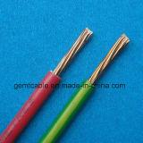 Tipo Bvr Rated fio isolado PVC da tensão 300V do edifício do cabo do condutor do cobre