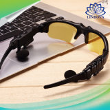 V4.1 Bluetooth 색안경 이어폰 Mic 입체 음향 무선 핸즈프리 외침을%s 가진 옥외 유리 Earbuds 음악