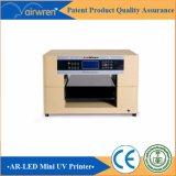 8 Color Inkjet UV Impresora de Vidrio Impresora de la Caja del Teléfono Digital con tinta blanca