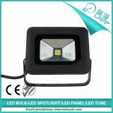 Schwarze Schlauch-Farben-Superlicht 10W PFEILER LED Flutlicht