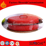 Sunboat Enamel Roaster Cookware Medium Sized Oval Chickenware