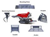 Outils de la construction By800 avec l'individu d'engine de Honda vidant la mini excavatrice