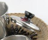 フィルター網(FT-03404)が付いているステンレス鋼オイルの鍋