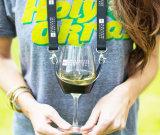 Het Sleutelkoord van de Houder van het Glas van de Wijn van de polyester