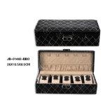 مزدوجة [بو] جلد صندوق لأنّ مجوهرات [جولّري] & ساحة & سوار