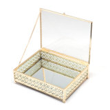 Contenitore di imballaggio di vetro all'ingrosso del regalo dei monili Jb-1088