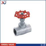 Válvula de porta rosqueada fêmea do aço inoxidável 304 do ANSI