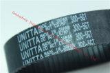 日本元のSMT予備品300-5gt-23の黒いゴム製タイミングベルト