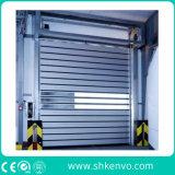 Thermische Isolierhochgeschwindigkeitsrollen-Blendenverschluss-Tür für pharmazeutische Droge-Fabrik