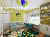 Luz de teto colorida acrílica do balão da memória moderna creativa para o quarto de criança