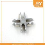 La holding di vetro decorativa dell'acciaio inossidabile di asta della ringhiera ferma 4 morsetti con una graffetta d'angolo