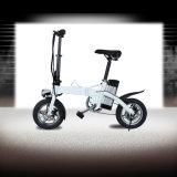 12 polegadas que dobram a bicicleta elétrica com freio/assento