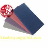 A tela cobriu o painel acústico do detetive do painel de teto do painel de parede do painel acústico do painel da fibra de vidro