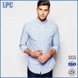 عالة أساسيّ لطيفة يحاك 100% قطر طويلة كم رجال تدقيق قميص