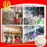Moinho de farinha instalado do trigo 100t/24h instalado na fábrica