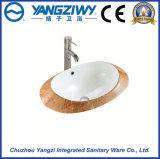 Керамический санитарный тазик искусствоа изделий (YZ1306)