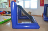 زرقاء قابل للنفخ ماء كرة بوّابة لأنّ ماء كرة قدم وصابون كرة قدم