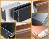 Extrusion en aluminium pour la porte et le guichet