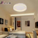 Luz de teto redonda acrílica do metal A3 para a sala de visitas