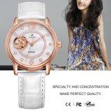 Wristwatch 71086 кварца нержавеющей стали повелительницы Кожи Wristwatch женщин способа сетноой-аналогов