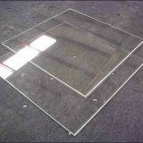 Vidrio refractario del alto Borosilicate a prueba de calor redondo para la Lámpara-Chimenea
