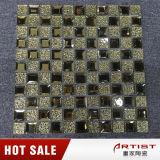 La fuente de China mezcló el azulejo de mosaico de cristal de piedra del brillo para la pared Backsplash