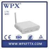 Matériel optique Fiberhome 1fe ONU de fibre de FTTH avec le WiFi