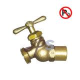 Liberar la válvula de cobre amarillo de la manga de desagüe del terminal de componente