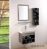 Bunningsの壁はステンレス鋼の浴室の虚栄心のキャビネットおよびホテルの虚栄心を映す