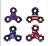 EDC friemelt de Spinner van de Hand van het Stuk speelgoed de Plastic Spinner van de Vinger van de Camouflage