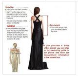 2016 longues longueurs arrières avant courtes neuves Alsw1705 de genou de robe de mariage