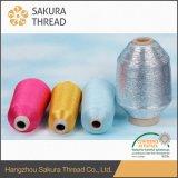 승인되는 SGS로 뜨개질을 하는 양탄자를 위한 1/35년 폴리에스테 금속 털실