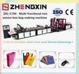 Saco reusável não tecido a favor do meio ambiente que faz a máquina (ZXL-C700)