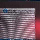 El panel brillante helado de la depresión del policarbonato de la Gemelo-Pared para la decoración