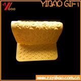 Циновка Customed силиконовой резины промотирования цветастая мягкая (YB-HR-91)