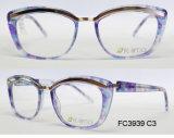 Het Optische Frame van de Acetaat van de goede Kwaliteit voor Dame met Metaal (Ce) Eyewear