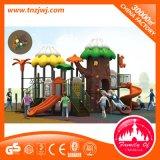 Terrains de jeux extérieurs en plastique de jardin de Chambre de jeu de gosses