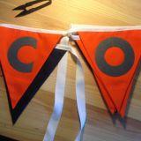 Golpe ligero modelado alta calidad barata por encargo de los indicadores de las desconexiones del banderín
